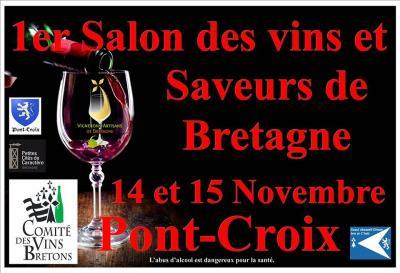 1er salon des vins et saveurs de bretagne agenda du cap for Salon des saveurs